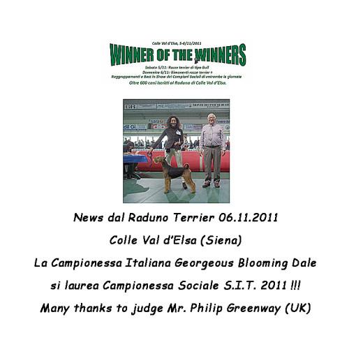 Uma Winner 2011 testo 8